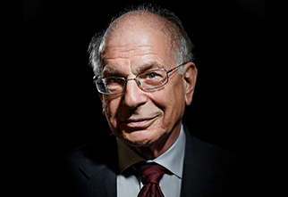 Foto do Professor Daniel Kahneman