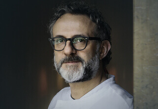 Foto do Professor Chef Massimo Bottura