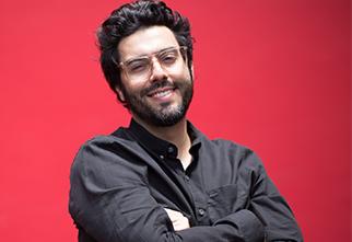 Foto do Professor Tiago Mattos